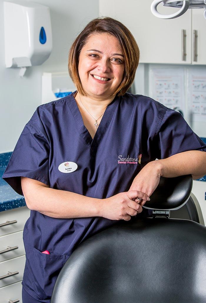 dentist at sandstone dental