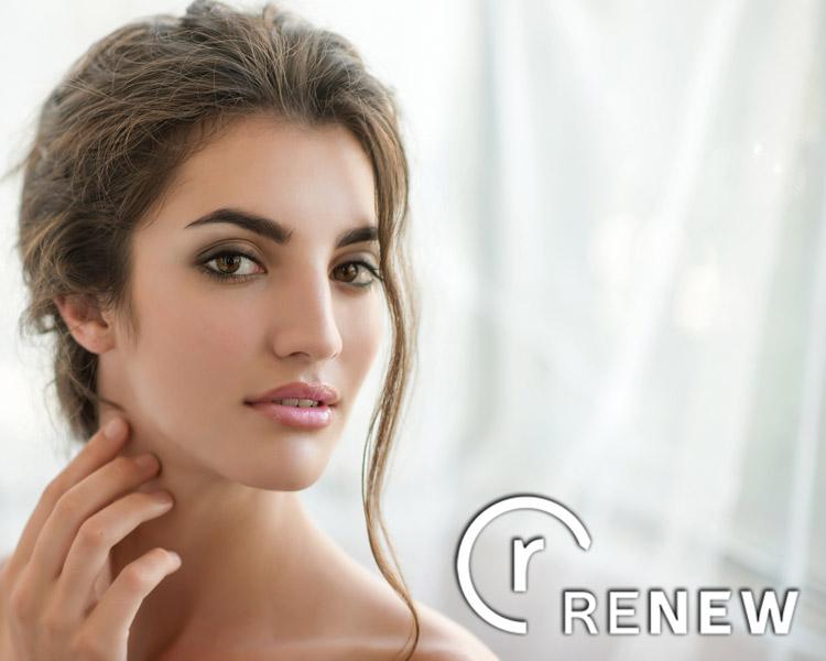 woman using renew